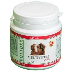 Polidex Multivitum plus для собак