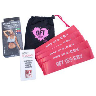 Эспандер лента Original FitTools FT-PP15