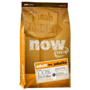 NOW FRESH Grain Free Adult Dog Food Recipe (2.72 кг)