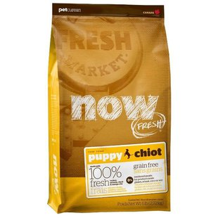 NOW FRESH Grain Free Puppy Dog Food Recipe (2.72 кг)