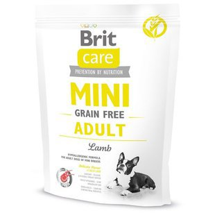 Корм для собак Brit Care Mini Grain Free Adult Lamb