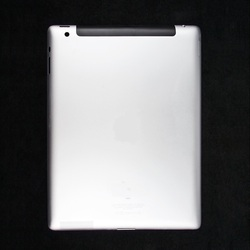 Задняя крышка для Apple iPad 2 64Gb (3G+WiFi) (Liberti Project CD124653) (серебристый)